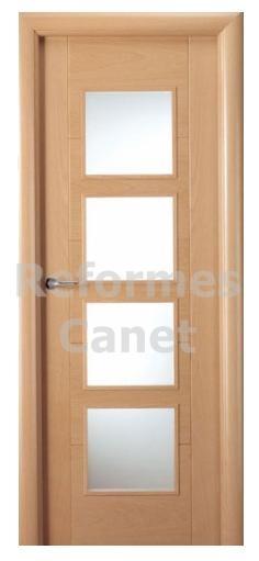 ... puertas apropiadas para zonas de paso ya que permiten la entrada de