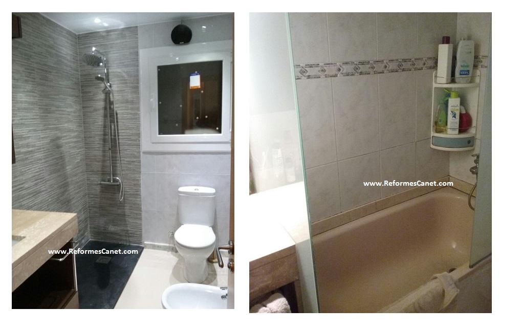 Cambio bañera por plato de ducha en Terrassa